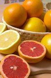 Orange and red orange fruit Royalty Free Stock Image