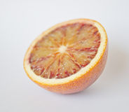 Orange, red orange fruit on white background, fresh and Stock Photo