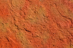 Orange red wall Stock Photos