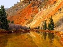 Orange Reflections Royalty Free Stock Images