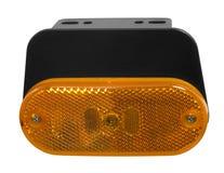 Orange reflector Royalty Free Stock Photo