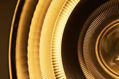 Orange reflektor för gult ljus i medicinsk miljö Royaltyfria Bilder