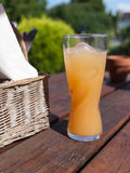 A refreshing orange drink Stock Photos