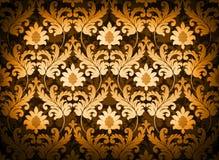 Orange renaissance background. Magnificent decorative orange renaissance background Royalty Free Stock Image