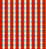 Orange repeated textile pattern and design Stock Images