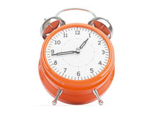 Orange Retro Clock Stock Image