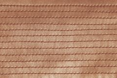 Orange retro stitched leather Stock Photos