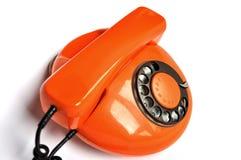 Free Orange Retrophone Royalty Free Stock Images - 20411789