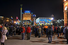 Orange Revolution anniversary in Ukraine, Royalty Free Stock Image