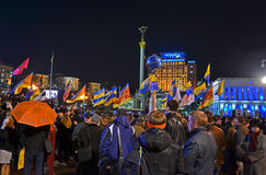 Orange Revolution anniversary in Ukraine, Royalty Free Stock Photos