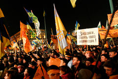 The Orange Revolution Stock Photography