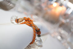 Orange ribbon Royalty Free Stock Photos