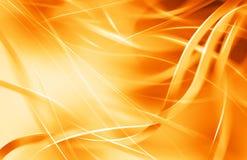 Orange ribbon background Stock Photos