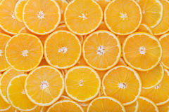 Orange rings as background Royalty Free Stock Photos
