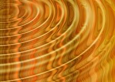 Orange ripples Stock Photos