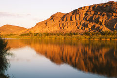 Orange river at Abiqua Stock Images