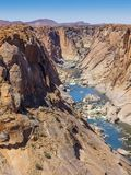 Orange River Gorge near Augrabies Falls royalty free stock photos