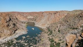 Orange River Gorge Royalty Free Stock Photography
