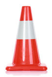 Orange Road Hazard cone Stock Photo