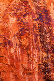 Orange Rock Canyon Abstract Arches National Park Moab Utah Stock Photography