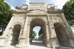 Orange, Roman Arch Royalty Free Stock Images