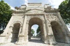 Orange, Roman Arch Royalty Free Stock Photo