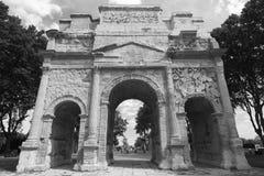 Orange, Roman Arch Royalty Free Stock Image