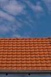 Orange roof Royalty Free Stock Photo