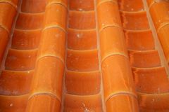 Orange roof Royalty Free Stock Photography