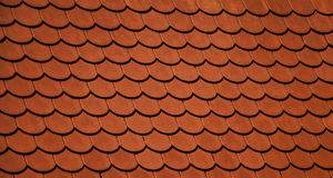 Orange roof Royalty Free Stock Image