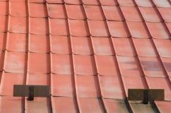 Orange roof Stock Image