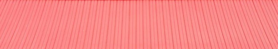 Orange Roof Pattern Stock Photo