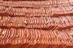 Orange Roof Tile Stack Royalty Free Stock Photo
