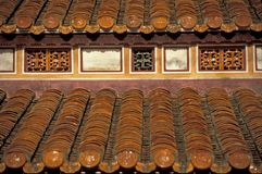 Orange Roof Tiles Stock Image