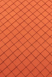 Orange roof tiles. Abstract background. Stock Image