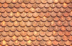 Orange roof tiles Royalty Free Stock Photo