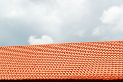 Orange roof Royalty Free Stock Images