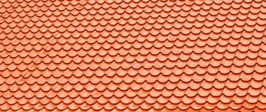 Orange Roof Tiles. Royalty Free Stock Photos