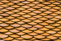 Orange roof tiles Royalty Free Stock Image