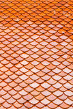 Orange roof top tiles Stock Photos