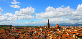 Orange Roofs of Florence Royalty Free Stock Images