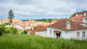 Orange roofs of Portugal, Sintra Royalty Free Stock Photography
