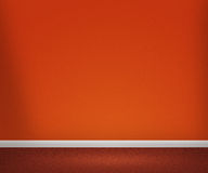 Orange Room Royalty Free Stock Photography