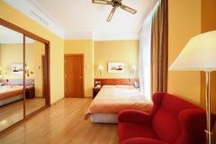 Orange rooms at Senator Gran Via 4* hotel Stock Photography
