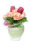 Orange rose flowers Royalty Free Stock Photos
