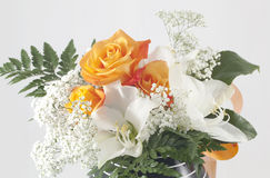 Orange Rose. For typical bouquet use stock images