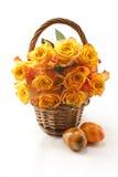Orange Rosen Stockfotografie