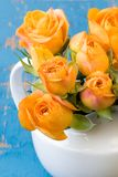 Orange Roses Royalty Free Stock Image
