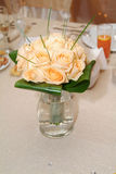 Orange roses bouquet Royalty Free Stock Photography