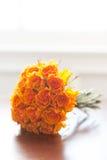 Orange wedding bouquet Royalty Free Stock Images